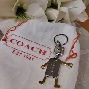 Coach Accessories - Coach Robot Fob Purse Charm